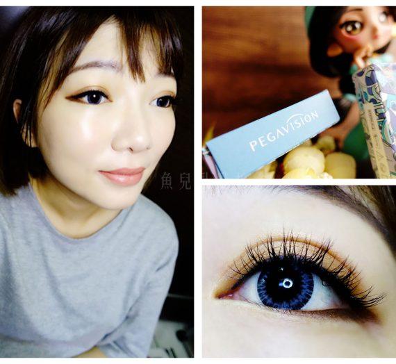 【美瞳】晶碩光學 水滋氧彩色月拋軟性隱形眼鏡  炫彩月拋/灰 新上市 超可愛塗鴉風包裝
